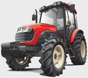 Sprężyny gazowe do traktorów, kombajnów, urządzeń - dla rolnictwa